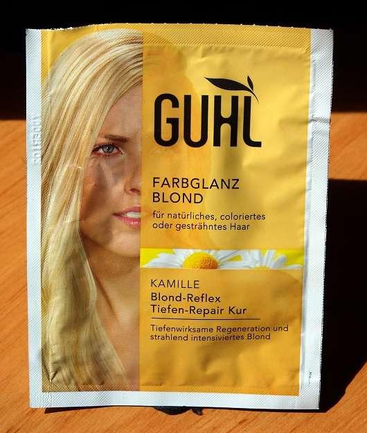 GUHL Farbglanz Blond – KAMILLE Blond-Reflex Tiefen-Repair Kur