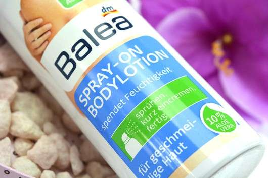 Balea Spray-On Bodylotion