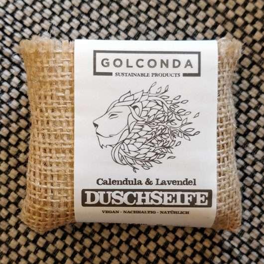 Golconda Duschseife Calendula & Lavendel