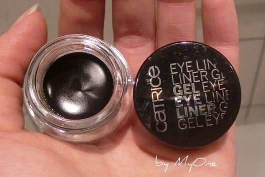 Catrice Gel Eyeliner, Farbe: 010 Black Jack with Jack Black